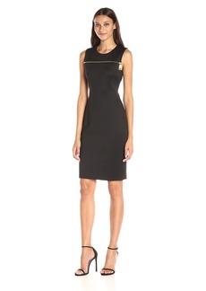 Calvin Klein Women's Dress W/ Zip AT Yoke