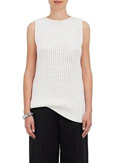 Calvin Klein Women's Drop-Stitched Cashmere-Blend Top