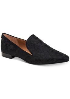 Calvin Klein Women's Elin Brocade Smoking Flats Women's Shoes