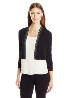 Calvin Klein Women's Embellished Shrug