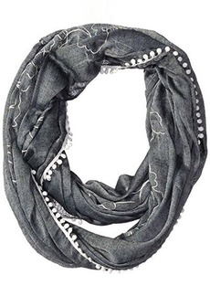 Calvin Klein Women's Embroidered Infinity Scarf