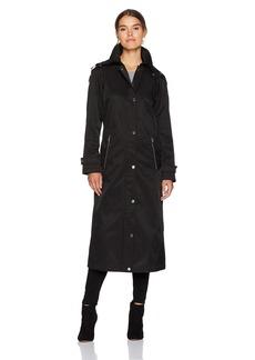 Calvin Klein Women's Essential Cotton Hooded Anorak Coat  M