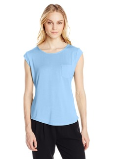 Calvin Klein Women's Essential One Pocket T-Shirt