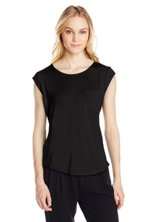 Calvin Klein Women's Essential One Pocket Tee
