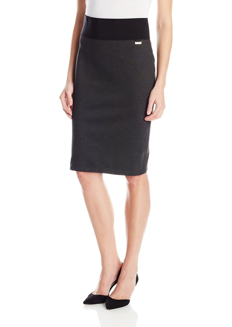 Calvin Klein Women's Essential Power Stretch Pencil Skirt