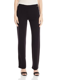 Calvin Klein Women's Essential Power Stretch Straight Pant