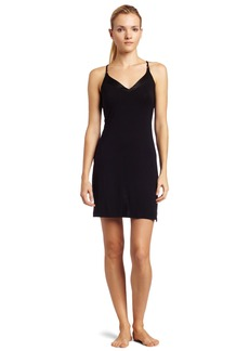 Calvin Klein Women's Essentials Satin V-Neck Chemise