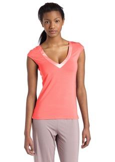 Calvin Klein Women's Essentials With Satin Cap Sleeve Pajama Top