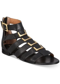 Calvin Klein Women's Estes Gladiator Flat Sandals Women's Shoes