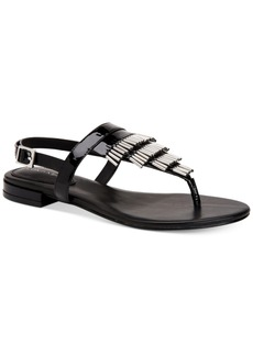Calvin Klein Women's Evonie Flat Sandals Women's Shoes