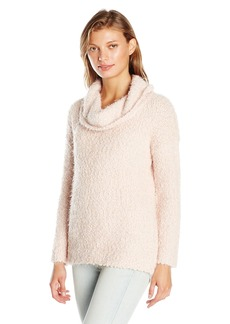 Calvin Klein Women's Eyelash Cowl Neck Sweater