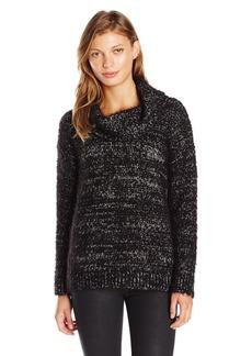 Calvin Klein Women's Eyelash Cowl Neck Sweater
