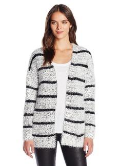 Calvin Klein Women's Eyelash Striped Cardigan