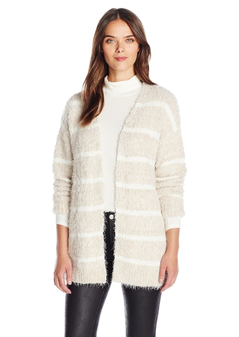 Calvin Klein Calvin Klein Women's Eyelash Striped Cardigan ...