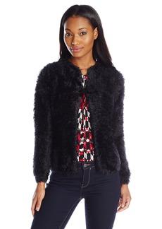 Calvin Klein Women's Faux Fur Sweater Knit