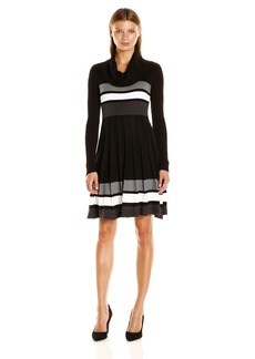 Calvin Klein Women's Fit and Flare Sweater Dress  XL