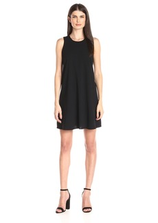 Calvin Klein Women's Flared Hem Halter Neck Dress