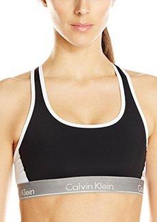 Calvin Klein Women's Flex Motion Impact Racerback Sports Bra