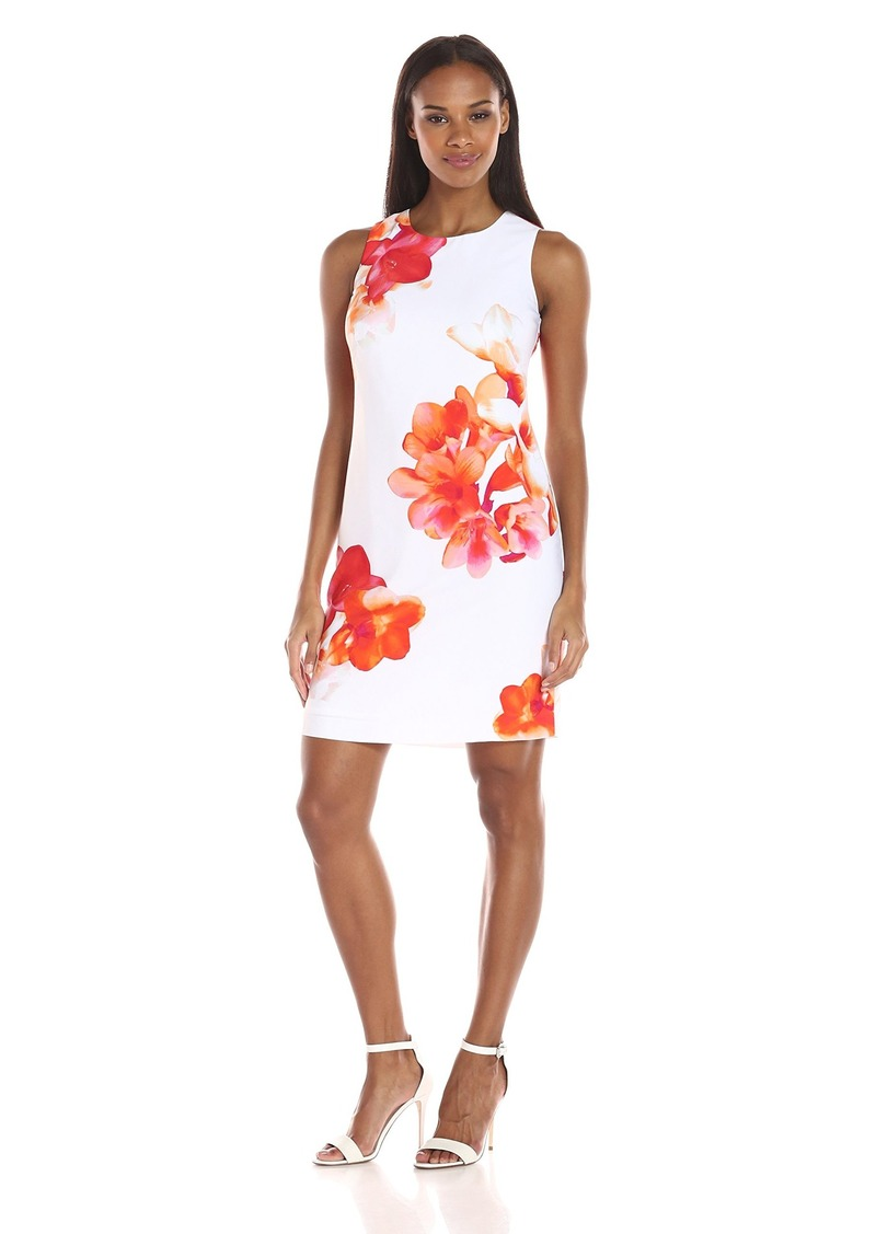 Calvin Klein Women's Floral Shift Dress