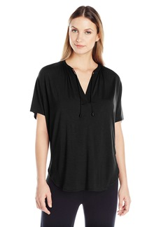 Calvin Klein Women's Flow Modal Short Sleeve Pajama Top