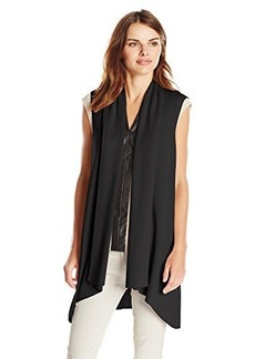 Calvin Klein Women's Flyaway Sweater Vest  X-Small