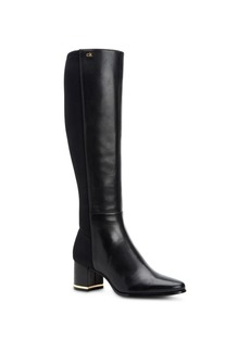 Calvin Klein Women's Freeda Tall Leather Boots Women's Shoes