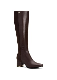 Calvin Klein Women's Freeda Tall Boots Women's Shoes
