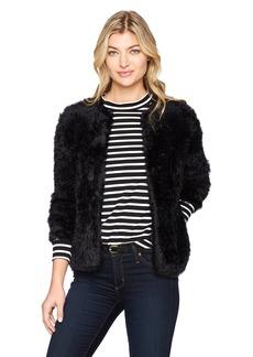 Calvin Klein Women's Furry Open Cardigan  M