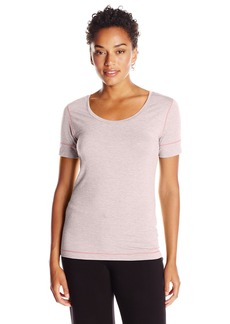 Calvin Klein Women's Fusion Short Sleeve Scoop Neck Tee