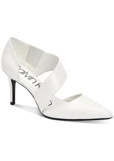 Calvin Klein Women's Gella Asymmetrical Dress Pumps Women's Shoes