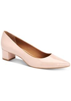 Calvin Klein Women's Genoveva Block-Heel Pumps Women's Shoes