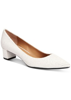 Calvin Klein Women's Genoveva Block-Heel Pumps Women's Shoes