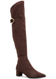 Calvin Klein Women's Georgeanna Stretch Over-The-Knee Boots Women's Shoes