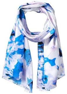 Calvin Klein Women's Glassy Floral Silk Scarf