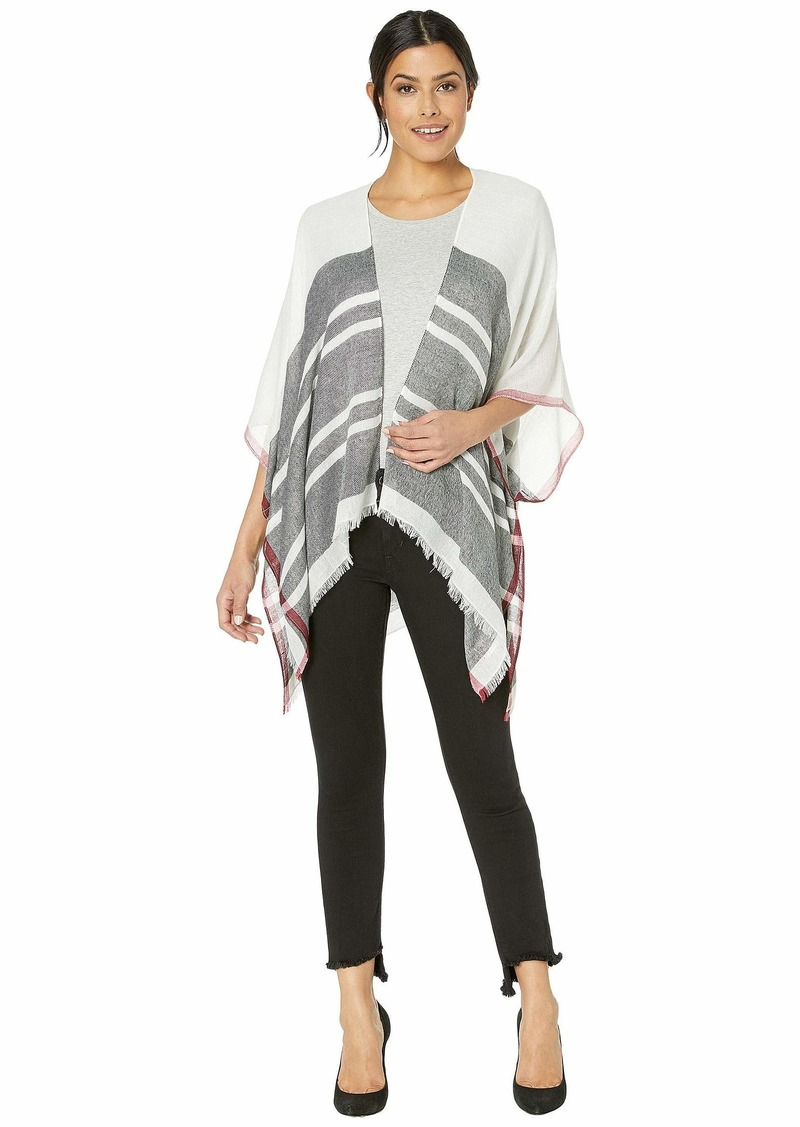 Calvin Klein Women's Graphic Stripe Shawl