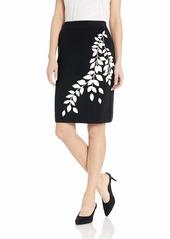 Calvin Klein Women's Graphic Sweater Skirt