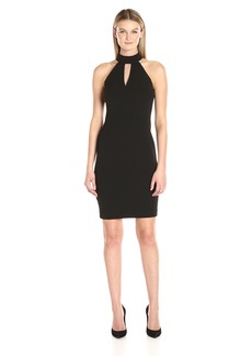Calvin Klein Women's Halter Neck Cocktail Dress