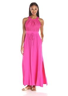 Calvin Klein Women's Halter-Neck Maxi Dress