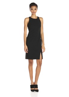 Calvin Klein Women's Halter Neck Sheath Dress With Side Slit