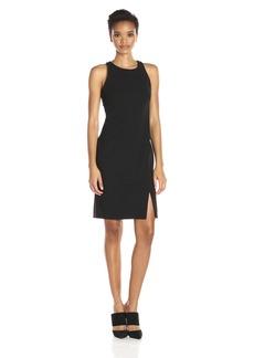 Calvin Klein Women's Halter Neck Sheath Dress with Side Slit