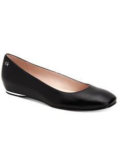 Calvin Klein Women's Heidy Nappa Flats Women's Shoes