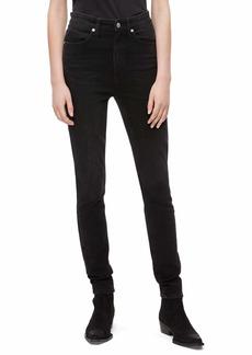 Calvin Klein Women's High Rise Skinny Fit Jeans Denver washed black 27X28