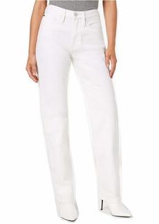 Calvin Klein Women's High Rise Straight Fit Jeans  31x32