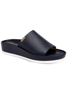 Calvin Klein Women's Hope Platform Wedge Slip-On Sandals Women's Shoes