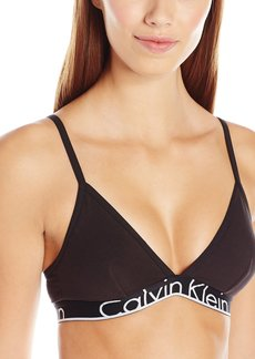 Calvin Klein Women's Id Cotton Waistband Triangle Unlined Bra