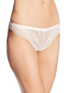 Calvin Klein Women's Infinite Lace Thong Panty
