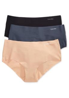 Calvin Klein Women's Invisibles 3-Pack Hipster Underwear QD3559