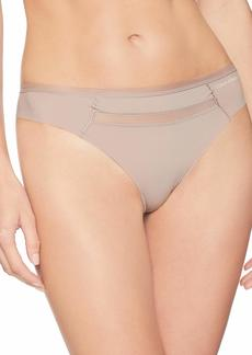 Calvin Klein Women's Invisibles with Mesh Thong
