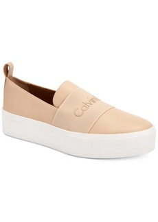 Calvin Klein Women's Jacinta Slip-On Platform Sneakers, A Macy's Exclusive Style Women's Shoes