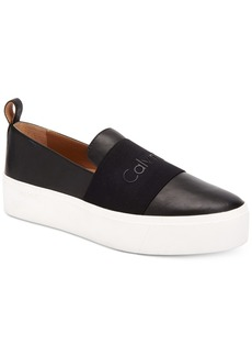 Calvin Klein Women's Jacinta Slip-On Platform Sneakers, Created for Macy's Women's Shoes